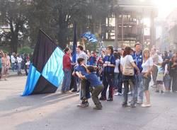 scudetto inter 2006/2007 festeggiamenti busto piazza trento e trieste