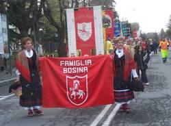 sfilata cerimonia 80 anni Provincia Varese 1-4-2007 famiglia bosina