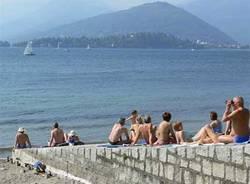 spiaggia verbano