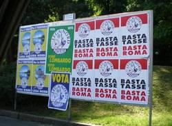 Cartelloni elettorali Lega Nord 2007