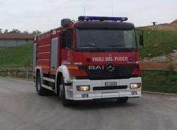 incendio discarica gorla maggiore 31-5-2007