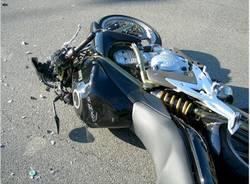 incidente moto buguggiate