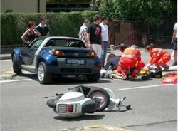 incidente viale europa maggio 2007