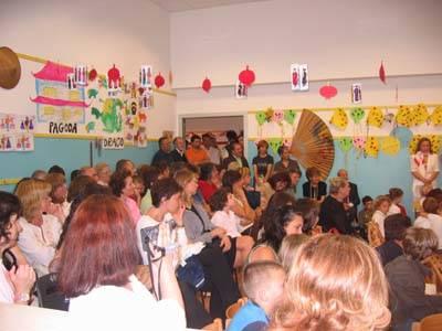 intitolazione maria letizia verga asilo calcinate