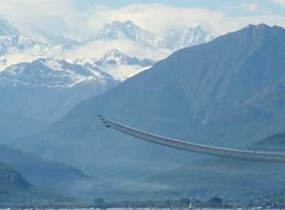 Le Frecce e le Alpi