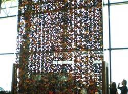 Malpensa fiori installazione