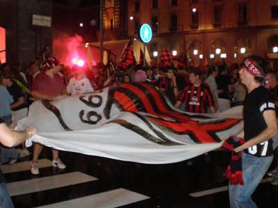 Milan festa Varese