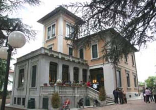 nuova sede museo scienze naturali malnate villa braghenti