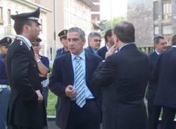 nuovo tribunale busto visita ministro giustizia clemente mastella 25-5-2007 francesco scalise vicequestore