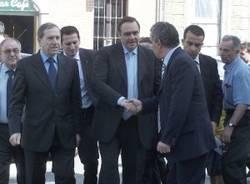 nuovo tribunale busto visita ministro giustizia clemente mastella 25-5-2007