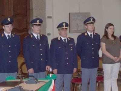 premiazione agenti polizia busto arsizio 24-5-2007
