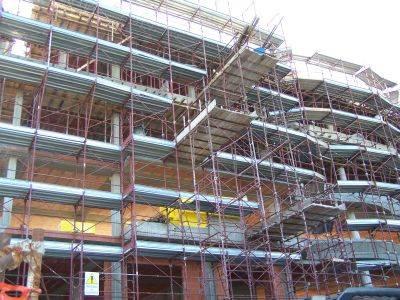 sicurezza lavoro edilizia cantiere palazzo sequestrato busto via firenze 10-5-2007