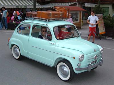 Vacanza in Fiat 600