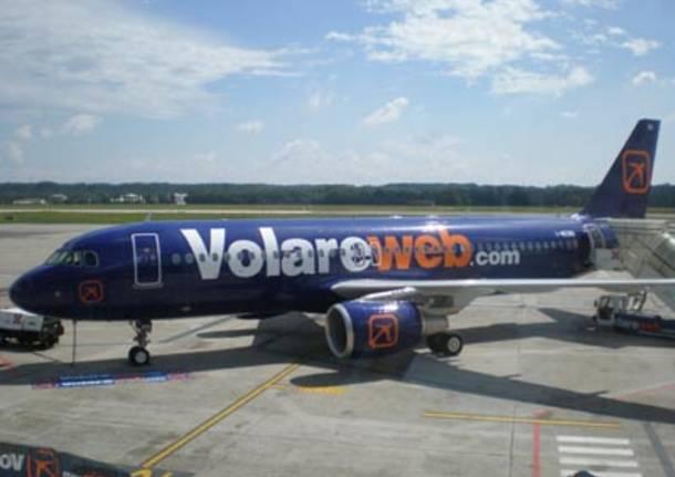 Volare aereo Provincia di Varese Malpensa