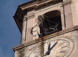 campanile angera campana caduta