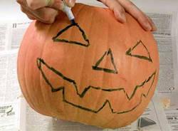 creare zucca halloween