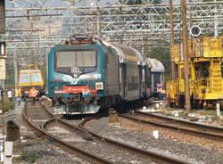 deragliamento treno trenitalia gallarate 13 ottobre 2007
