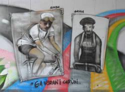 murale ciclismo buguggiate