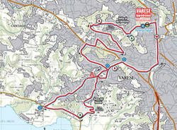 percorsi mondiali ciclismo planimetria gara in linea