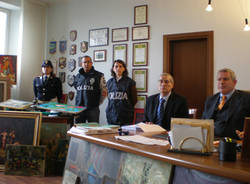 polizia gallarate quadri rubati