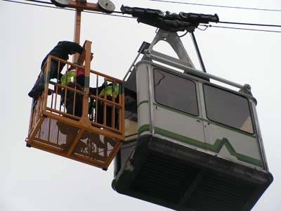 esercitazione simulazione soccorso alpino funivia monteviasco 2006