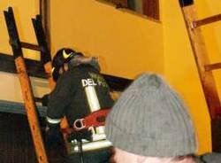 incendio villette somma lombardo 16-11-2007 (foto salvatore porcu)