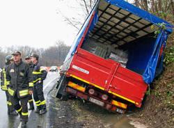 incidente gazzada schianno ponte di vedano 23 novembre