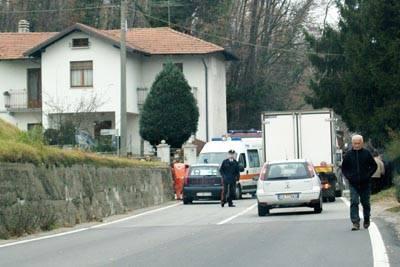 Incidente via Corgeno