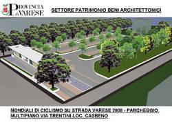 progetto parcheggio multipiano casbeno