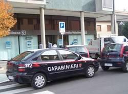 rapina credito valtellinese castellanza 13-11-2007 carabinieri