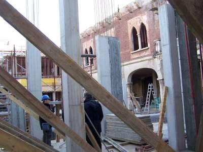 cantiere villa macchi via zappellini busto edilizia sicurezza lavoro