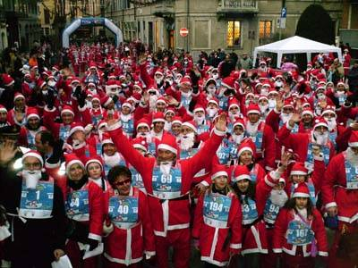 christmas run varese 2007 gara babbi natale