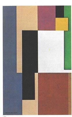 Manlio Rho, Composizione n. 3 , 1933 Gam Gallarate