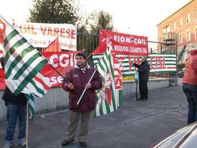 presidio sindacati prefettura dicembre 2007