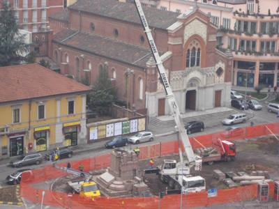 monumento gallarate piazza risorgimento
