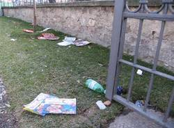 sporcizia gallarate via venegoni