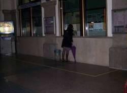 stazione fs busto arsizio ferrovie degrado immondizia rifiuti