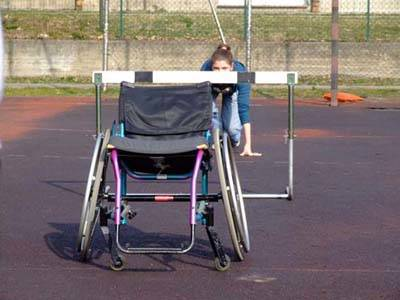 disabili gallarate carrozzella