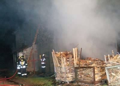 Incendio Pasquetta Cassano Valcuvia