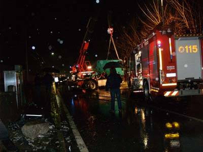 incidente cassinetta camion