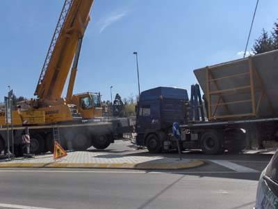 incidente gazzada camion 28 marzo