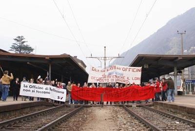 sciopero ffs cargo bellinzona
