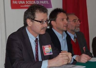 sinistra arcobaleno candidati politiche 2008
