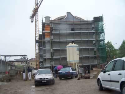 incidente mortale lavoro edilizia sacconago 10-4-2008