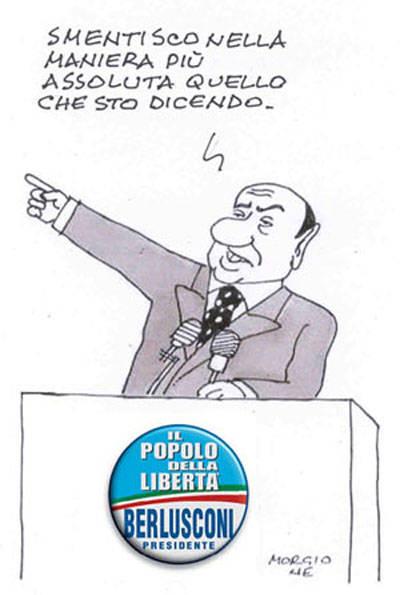 La vignetta di Morgione - 09/04/2008