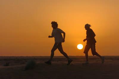 massimo camponeschi runner atletica deserto