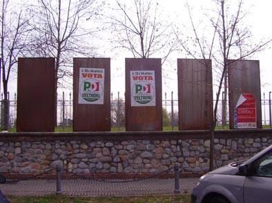 Partito democratico affissioni abusive Cassano Magnago