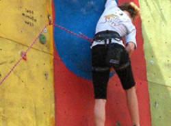 anna borella arrampicata lezard