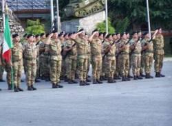 caserma mara nato soldati militari corpo reazione rapida cambio comandante 27-8-2008