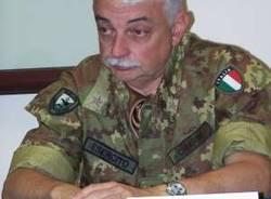 caserma mara nato soldati militari corpo reazione rapida cambio comandante 27-8-2008 generale gian marco gianmarco chiarini